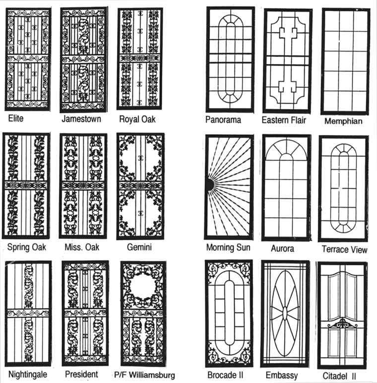 estilos de puertas de entrada