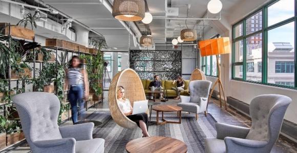 Oficinas y espacios de trabajo impresionantes para las empresas más famosas