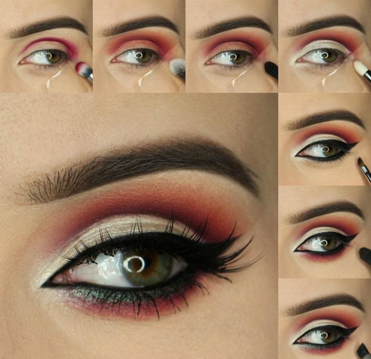 eyeliner paso a paso-facil-hacer-casa