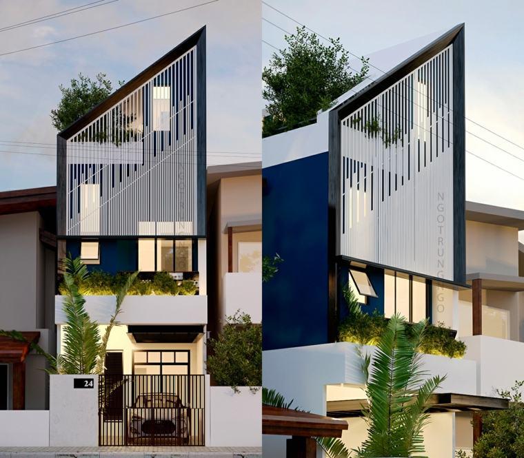 diseños de fachadas de casas modernas