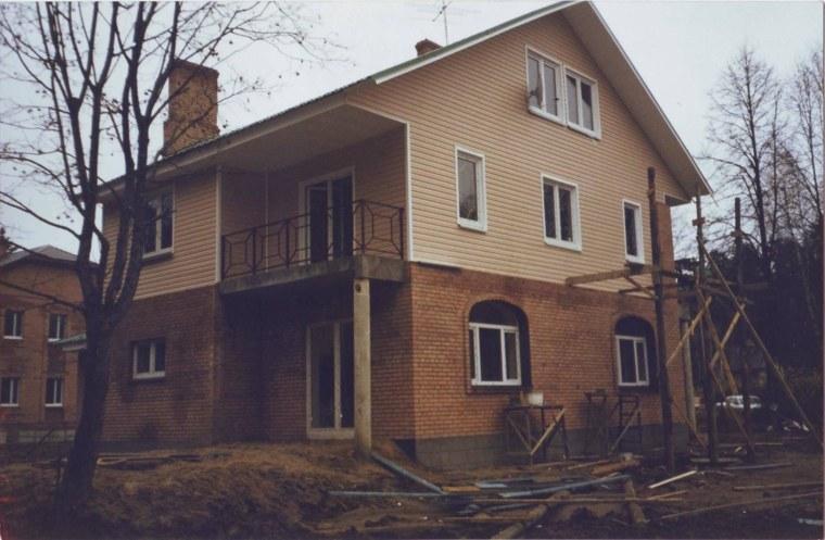 diseño de fachada de ladrillo