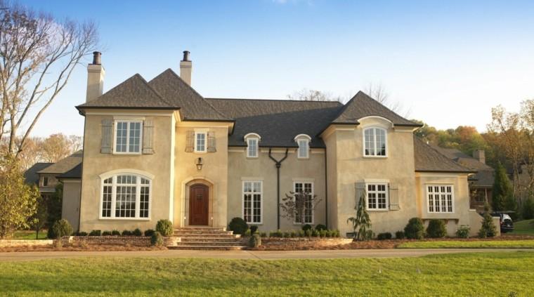 diseño de fachada de casa grande
