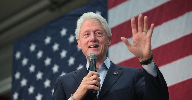 famosos vegetarianos bill-clinton