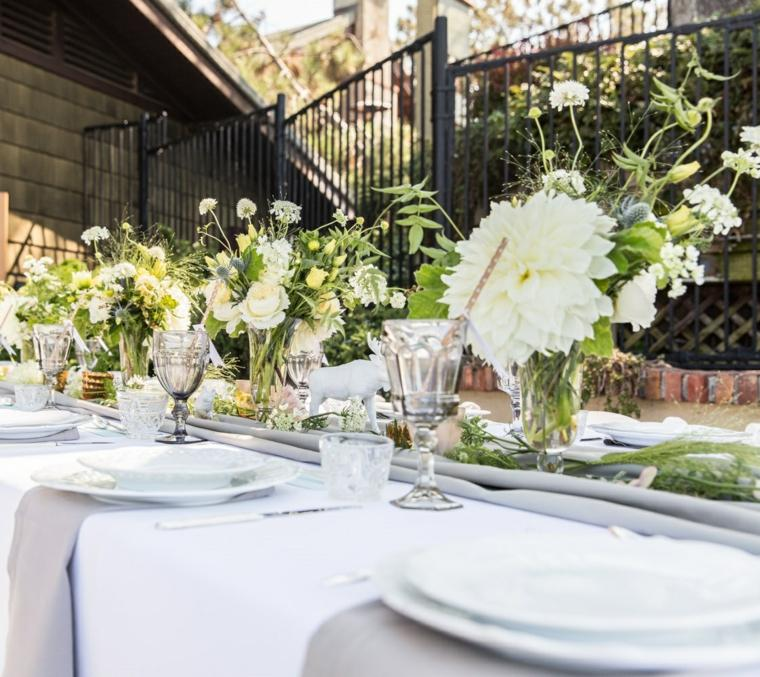 flores-blanco-verde-centro-mesa-baby-shower