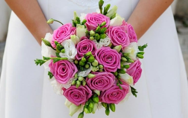 flores de boda-color-rosa