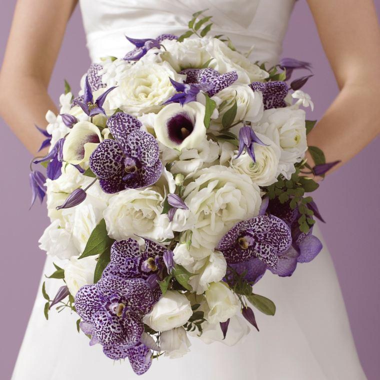 flores para boda-color-morado