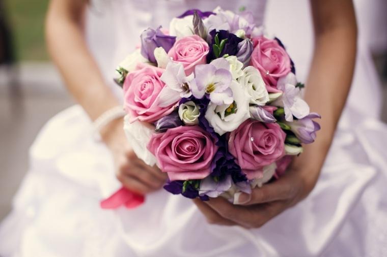 flores para una boda-colorida