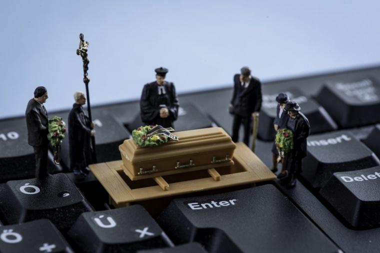 Teclado funerario