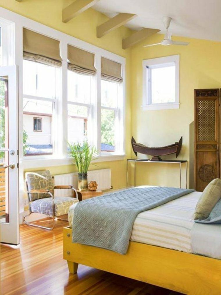 habitaciones amarillas-modernas-originales