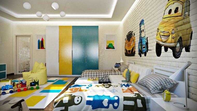 habitaciones-infantiles-nino-color-amarillo