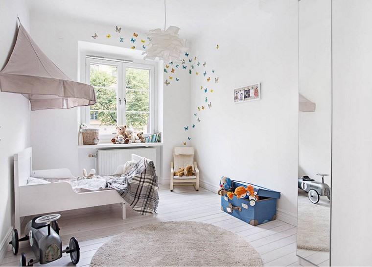 habitaciones infantiles niño diseno-moderno-blanco