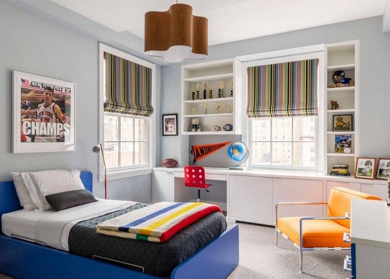 habitaciones infantiles niño-ideas-muebles-estilo-moderno