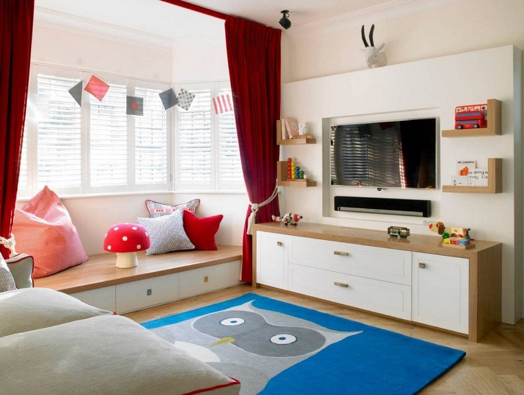 habitaciones-infantiles-nino-opciones-diseno-moderno