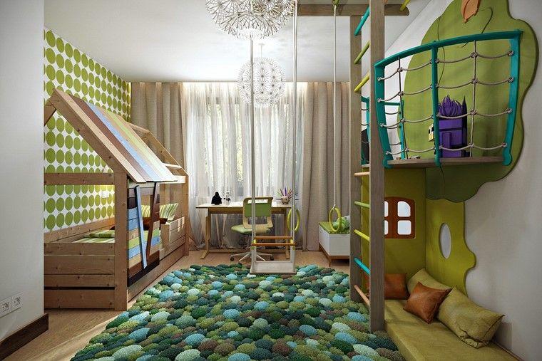habitaciones-infantiles-nino-verde-tanalidades-ideas