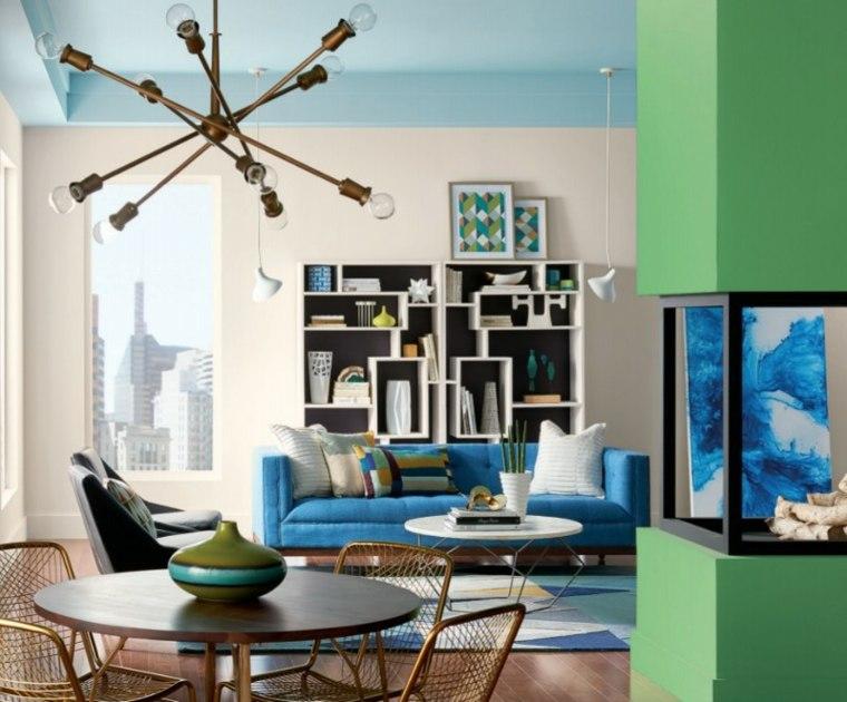 colores de moda en interiores