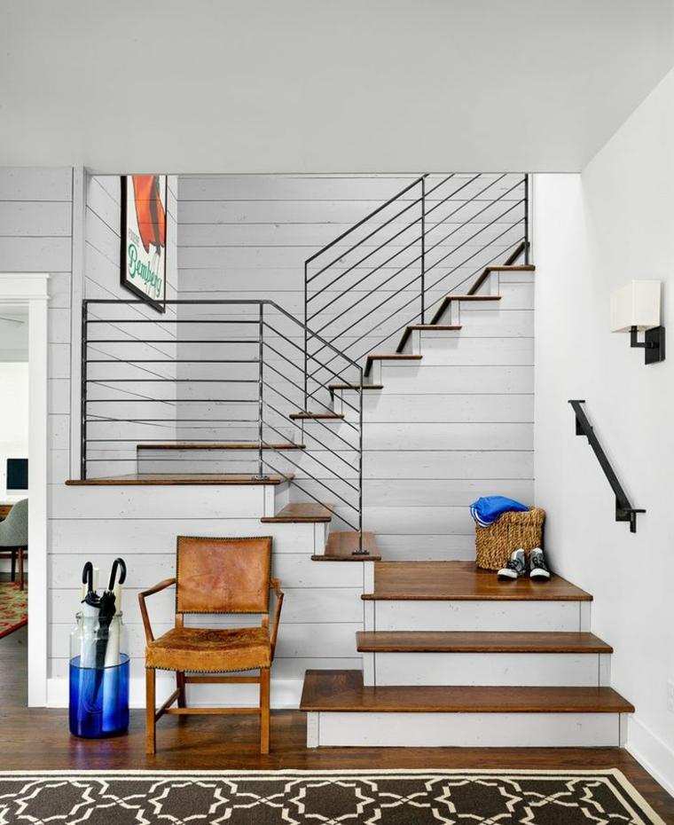 estupendos diseños de barandillas para escaleras