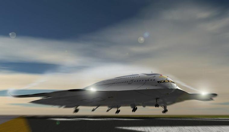 El avión podría detectar áreas de turbulencia