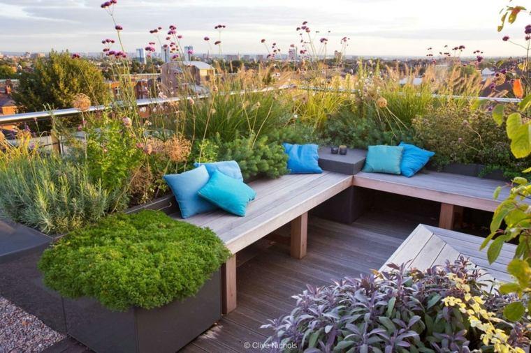 Jardines en terrazas y azoteas lujosos espacios verdes for Jardines lujosos