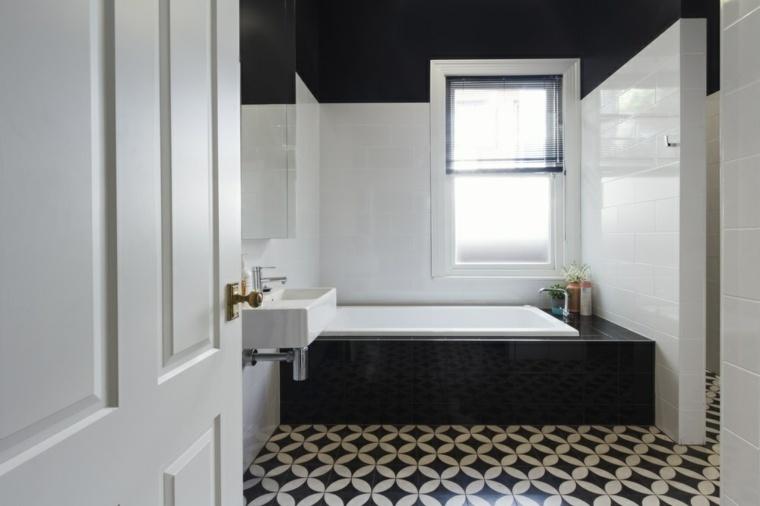 interiores de casas modernas baño