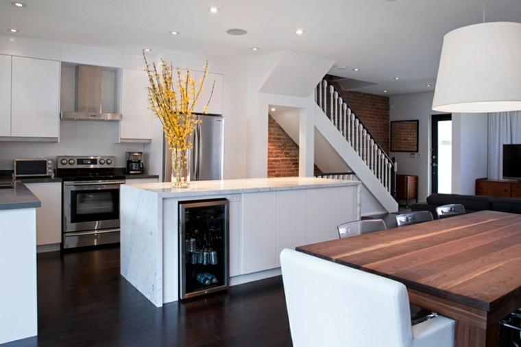 interiores de casas modernas comedor