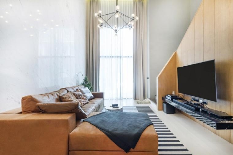 interiores de casas modernas salon