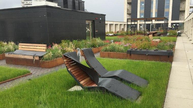 Beneficios de los jardines en terrazas