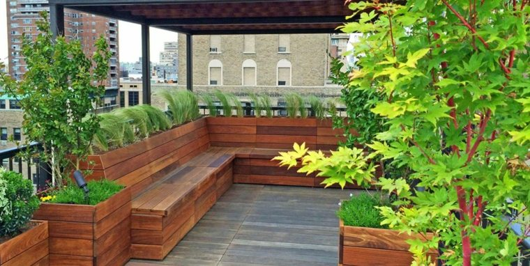 Jardines En Terrazas Y Azoteas Lujosos Espacios Verdes