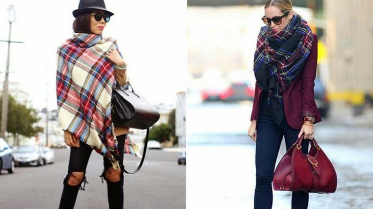 la moda en ropa para mujer-bufanda