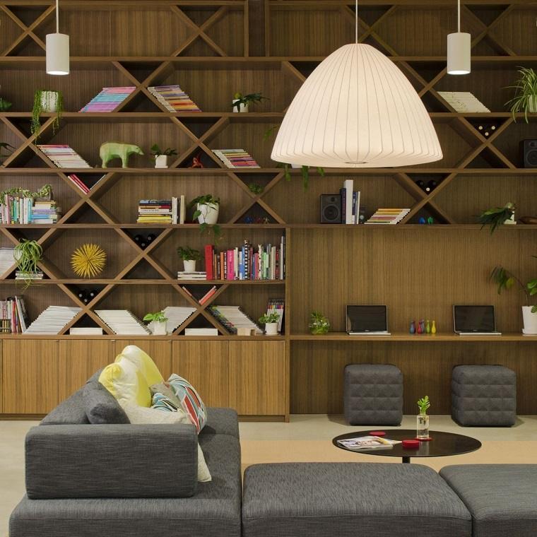 libreria-casa-opciones-estilo-moderno