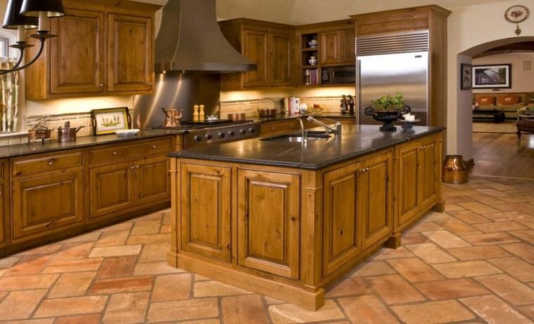 diseños de cocinas de madera