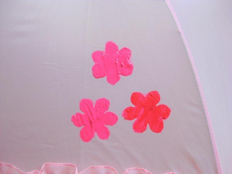 manualidades-sencillas-paraguas-tela-flores-ideas