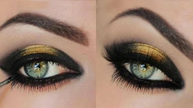 maquillaje de ojos-ahumados-nuevas-tendencias