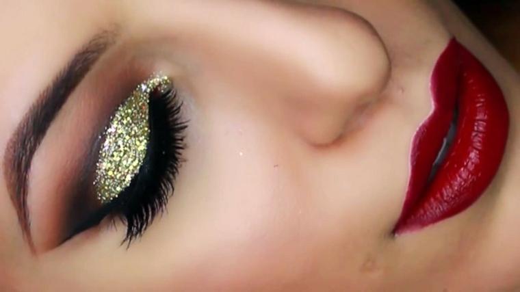 maquillaje de ojos de dia-colores