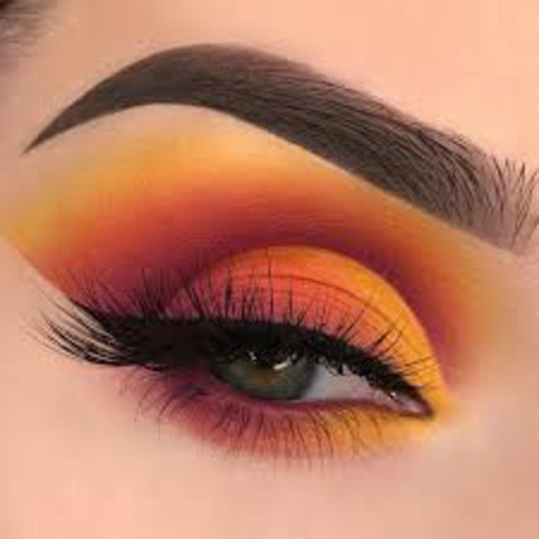 maquillaje de ojos paso a paso-colores