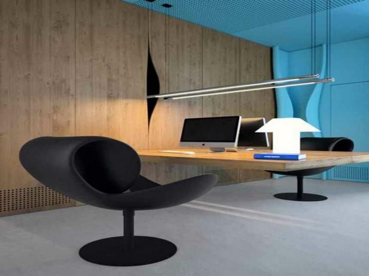diseño de escritorio flotante