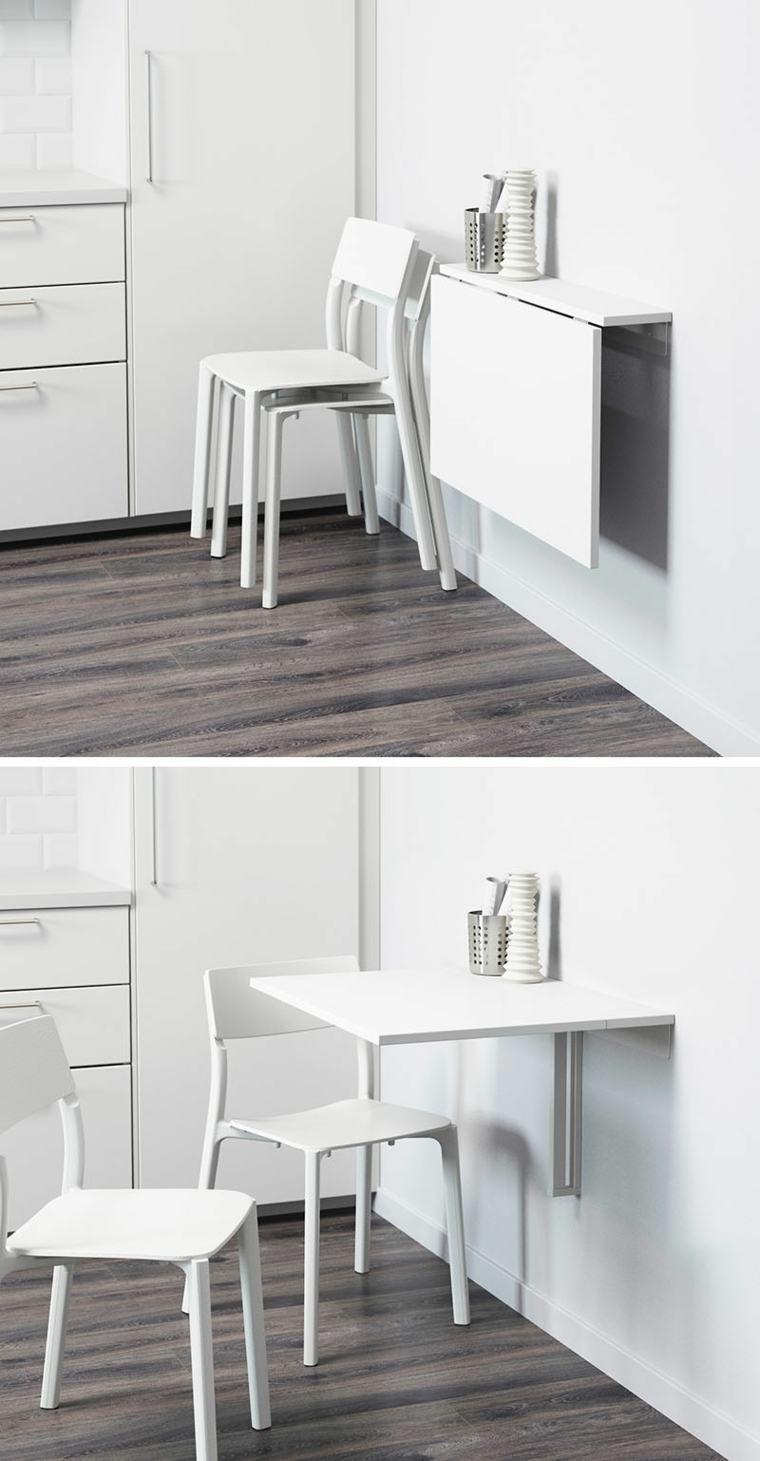 diseño de escritorio plegable