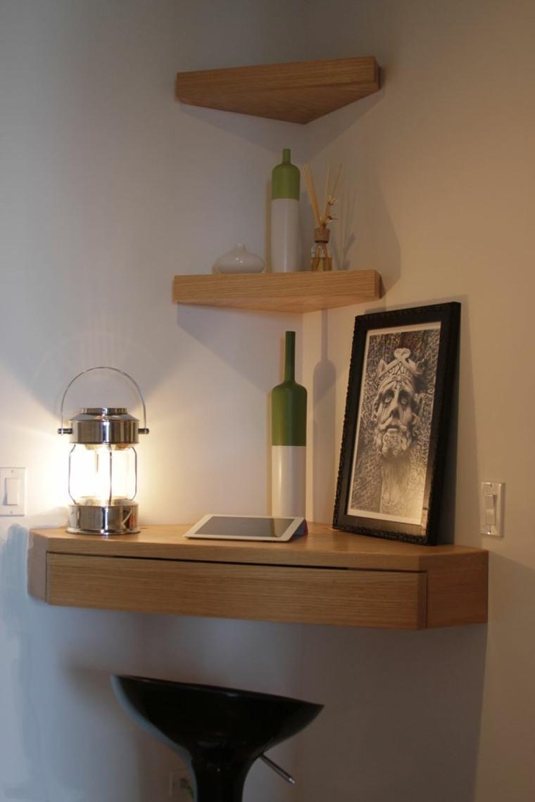 original diseño de escritorio de esquina