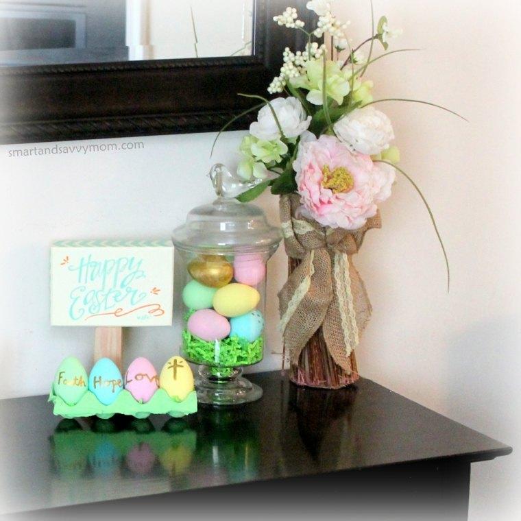mesa madera-decoraciones-florales