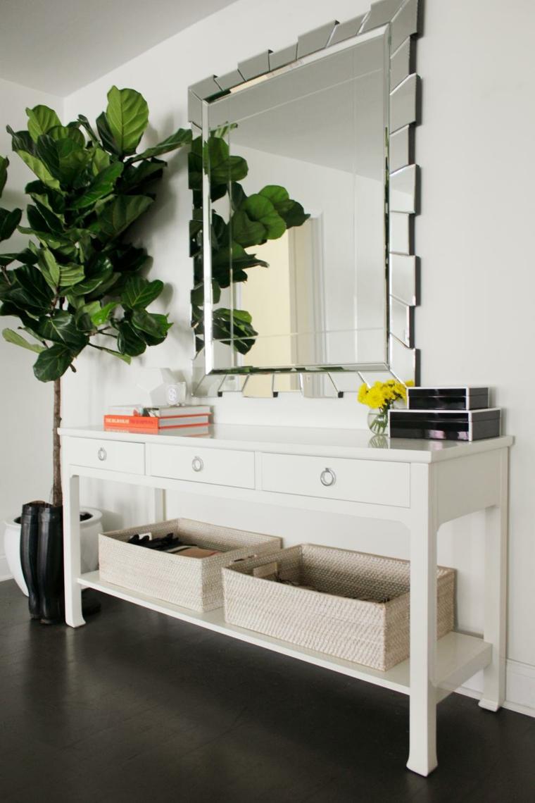 mesas de-consola-decorada-primavera