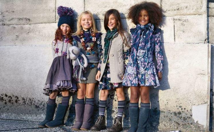 moda infantil chicas