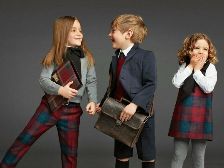 moda infantil escolar