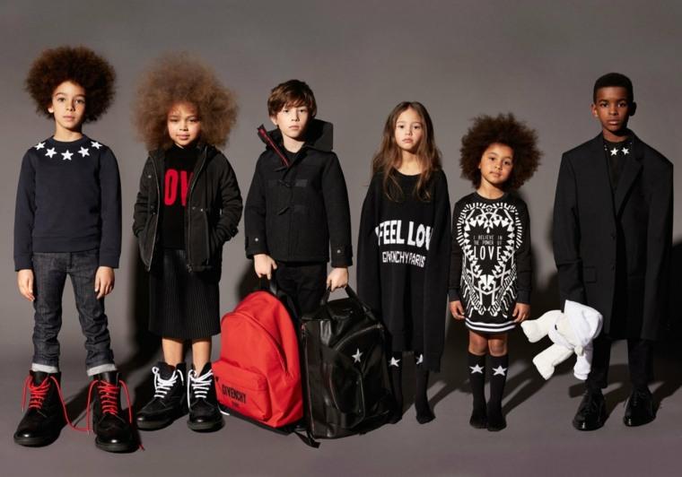 moda infantil givenchy
