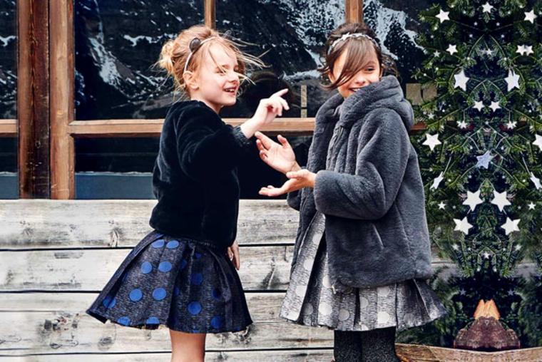 moda infantil pieles