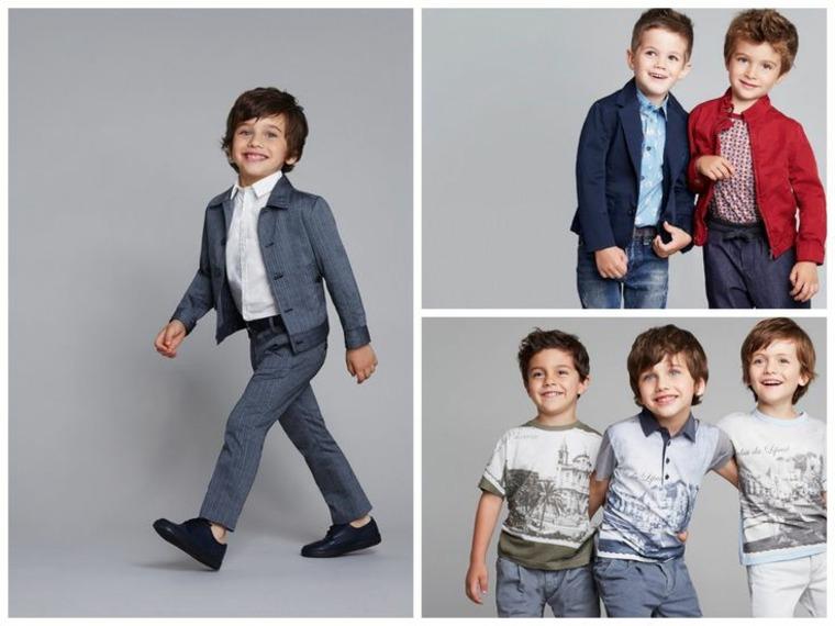 moda infantil tendencias-niños