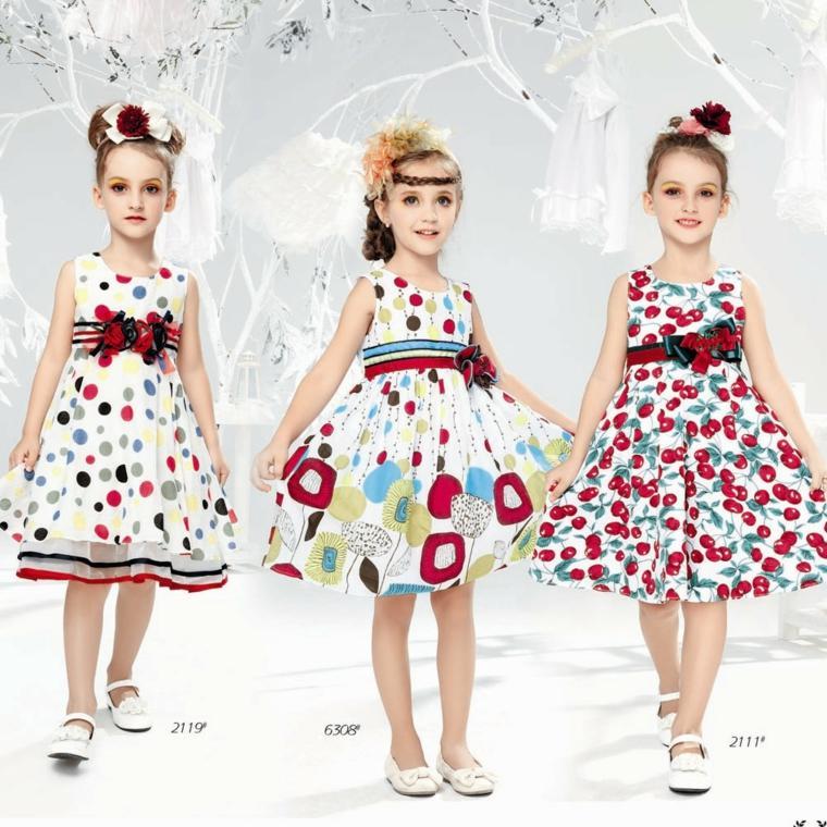 moda infantil vestidos