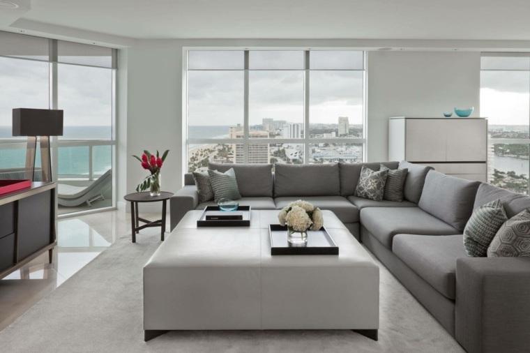 muebles bonitos elegantes concepto