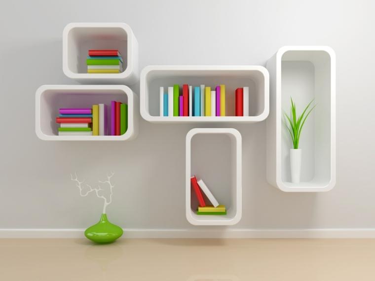 muebles de madera-modernos-libros