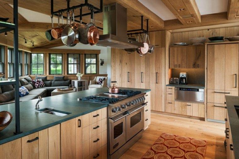 gabinetes de madera de arce