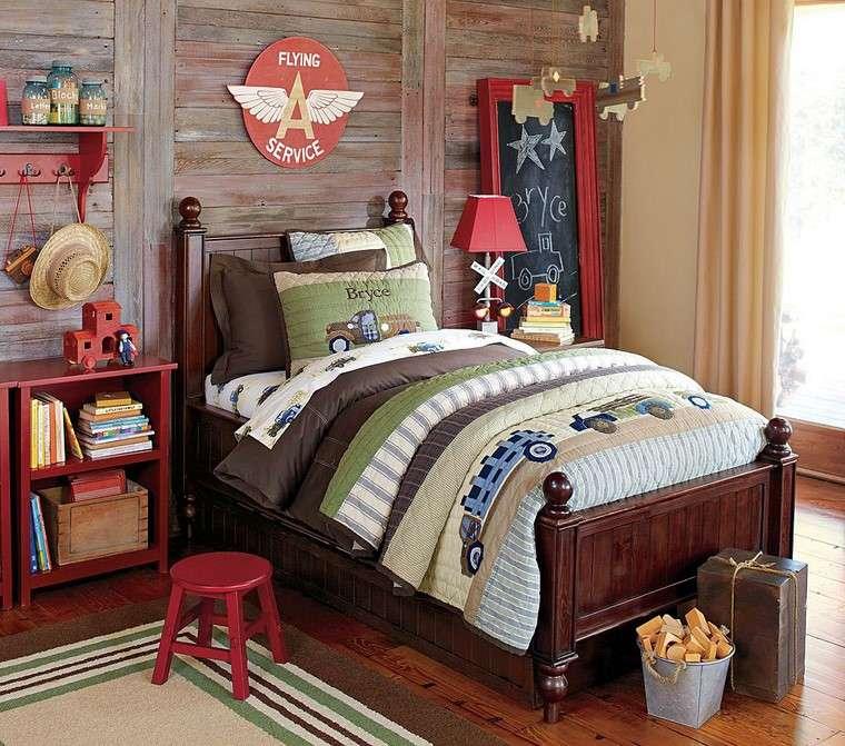 muebles-estilo-color-madera-oscura