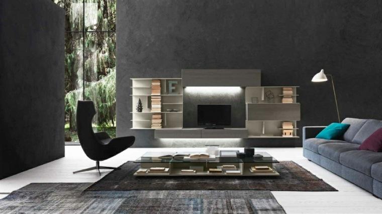 unidades de tv minimalistas
